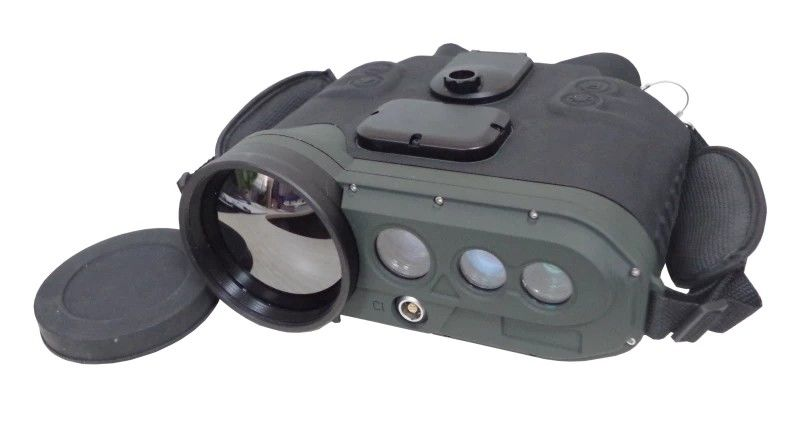 Multi Function Thermal Imaging Binoculars Long Range With LRF GPS 50mK