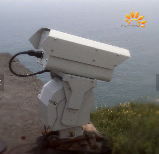 Border Security Long Range Thermal Camera With 2 - 10 Km Surveillance