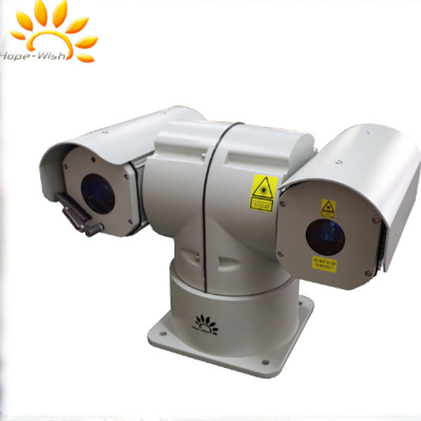 300m Ip Vehicle Ptz Laser Camera Ir Rugged Dustproof For Cars / Ships