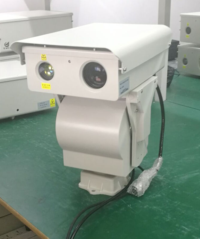 Laser Night Vision Long Range Infrared Camera Integrated With Nir Laser Illuminator
