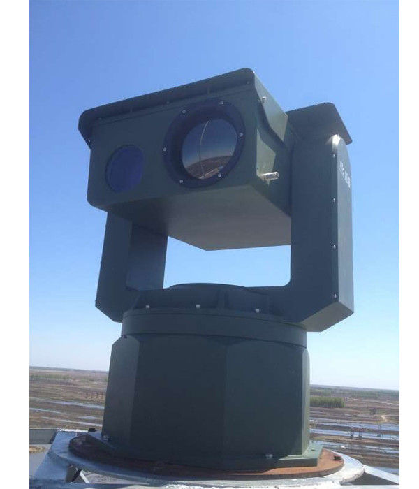 Ultra Long Range Thermal Surveillance System PTZ Infrared IR / EO Thermal Imaging Camera
